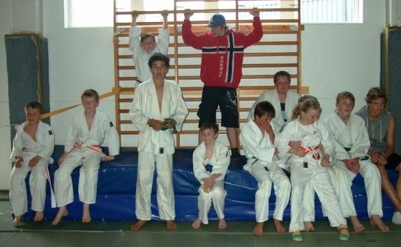 Blide deltakere fra LJK.