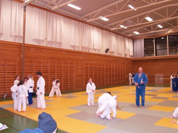 12.3.2013 ble den første treninga holdt i Judohallen.