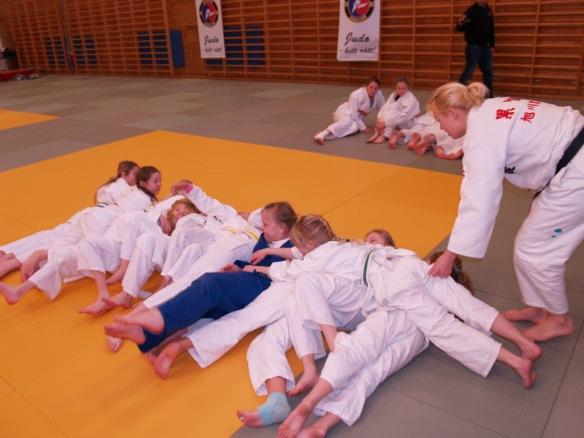 Ida Ruiken hadde lagt opp til et variert program for jentene.