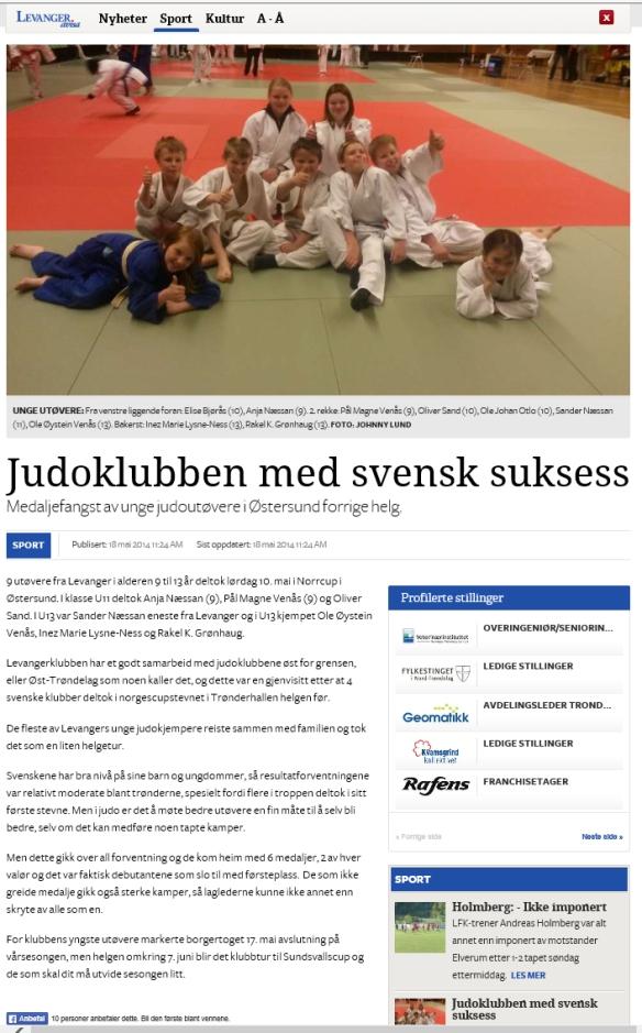Levanger-Avisa 19.5.2014