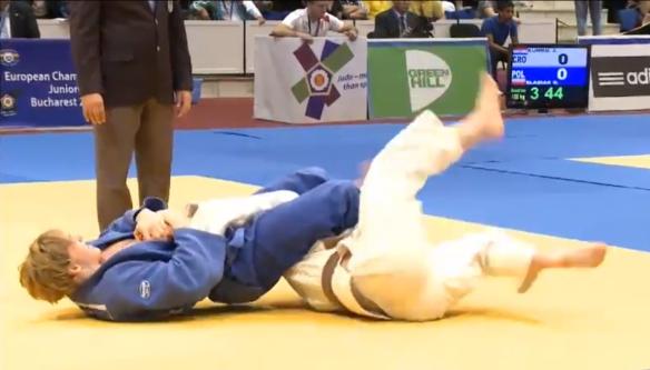 Her avgjør Henrik Reitan kamp nummer to mot Ruslan Knolik, Hviterussland.