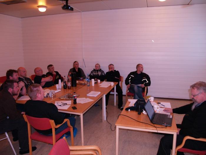 Årsmøtet fikk presentert ei årsmelding som vitner om stor aktivitet.