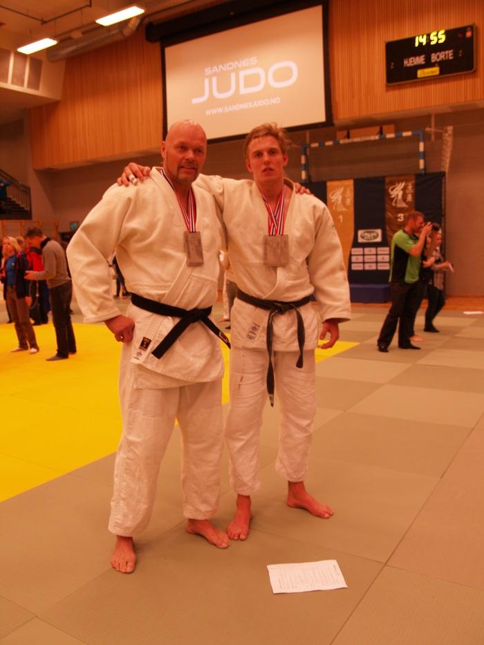 Sølvgutter: Egil Kvåle, +100 kg og Henrik Reitan, -100 kg og åpen klasse.