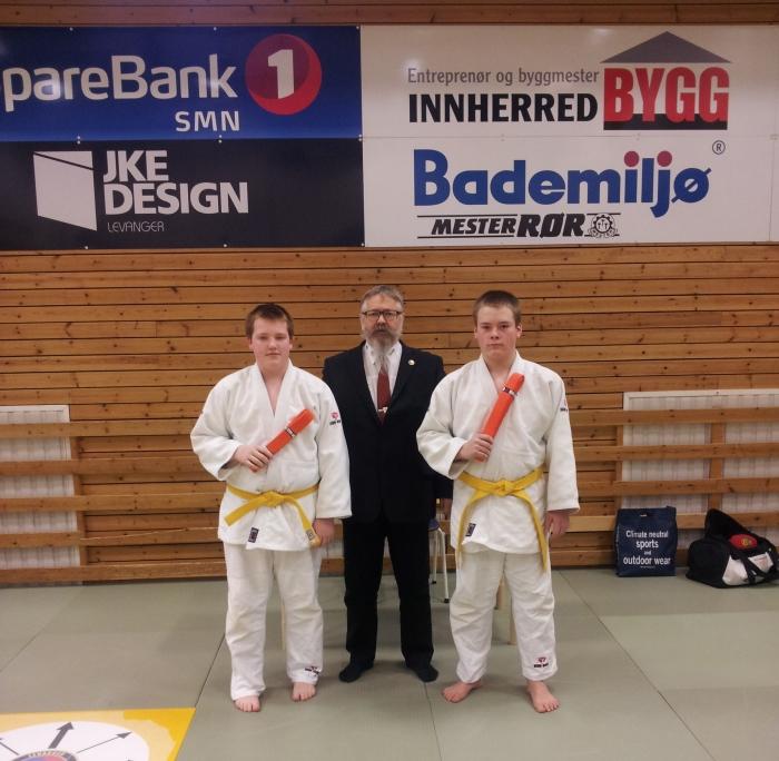 F.v.: Guttorm Bjørnebo, Alf Birger Rostad og Martin Rønning Aune.