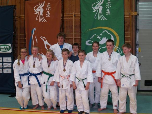 LJKs deltakere i U15 og U18.