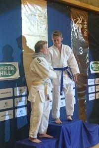 Gode judovenner - Jonas Levi Leonhardsen (sølv) og Brage Brataas (gull) i U15G-66