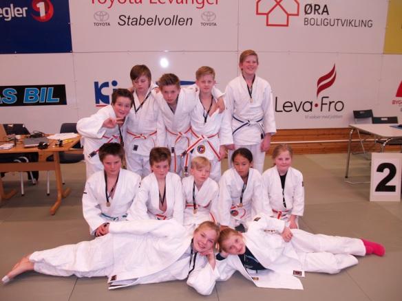 Levanger Judoklubbs superstjerner i U11 og 11.