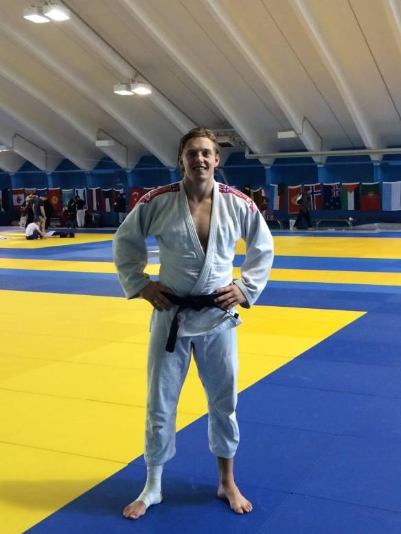 Henrik Reitan på treningsleir i Østerrike. Nå står stevne i Reykjavik for tur.