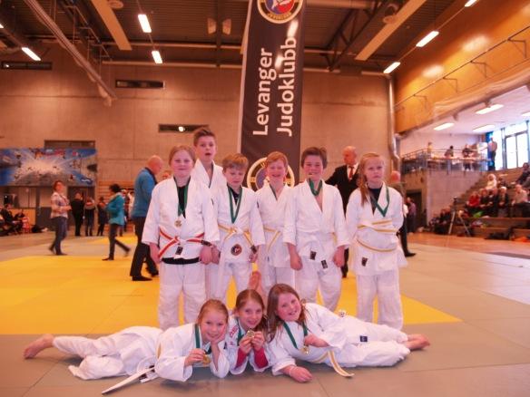 God innsats av LJKs deltakere i U11 og U13.
