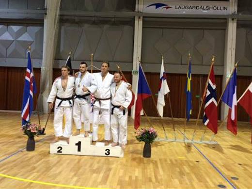 Sølv til Henrik Reitan i +100 kg.